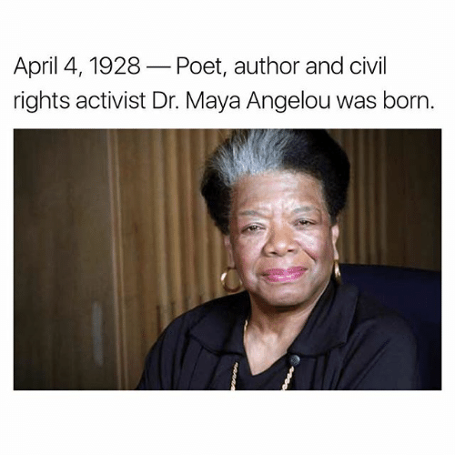 the career of american poet and civil rights activist maya angelou Poet, civil rights activist maya angelou and her commitment to civil rights has fallen silent maya angelou died at her illustrious career.