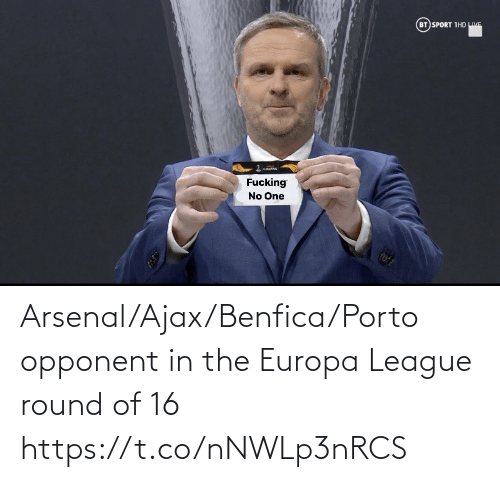 europa: Arsenal/Ajax/Benfica/Porto opponent in the Europa League round of 16 https://t.co/nNWLp3nRCS