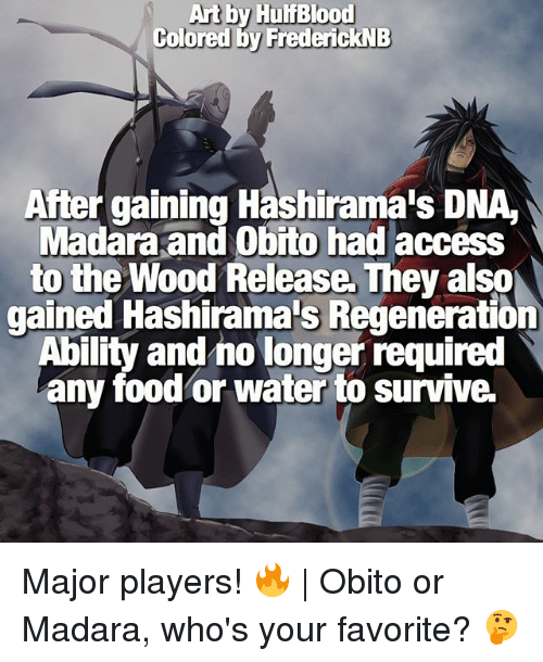 ✅ 25+ Best Memes About Madara and Obito | Madara and Obito