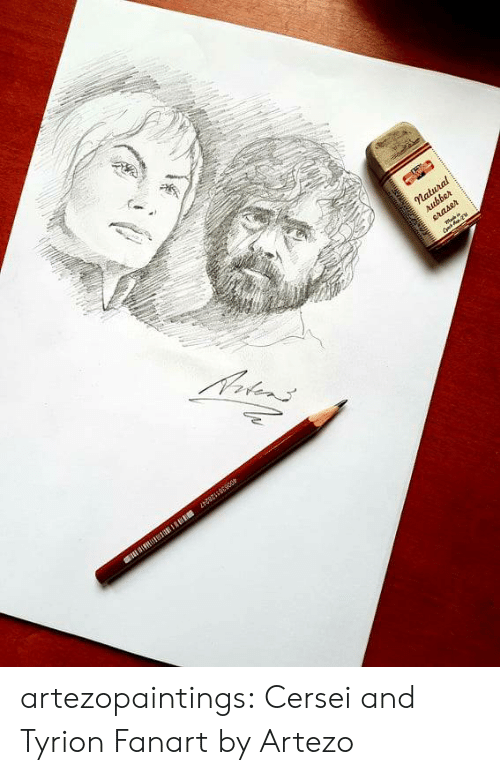 tyrion: artezopaintings:  Cersei and Tyrion Fanart by Artezo