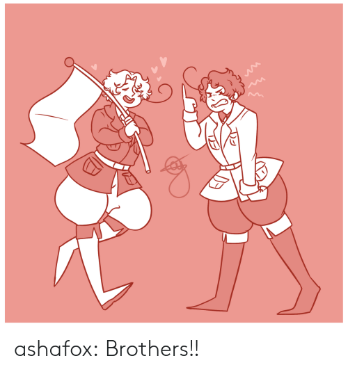 Target, Tumblr, and Blog: ashafox:  Brothers!!