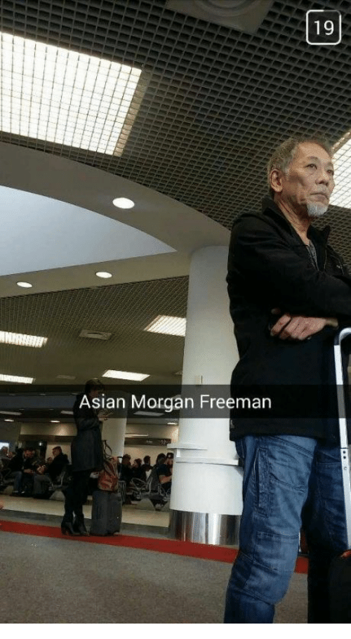 Asian Morgan Freeman: Asian Morgan Freeman