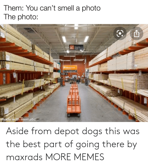Dank, Dogs, and Memes: Aside from depot dogs this was the best part of going there by maxrads MORE MEMES