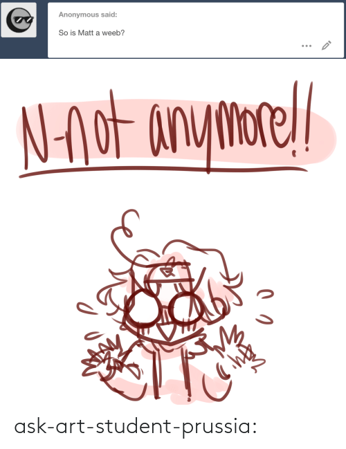 Ask Art: ask-art-student-prussia: