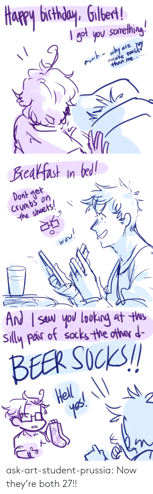 Tumblr Com: ask-art-student-prussia:  Now they're both 27!!