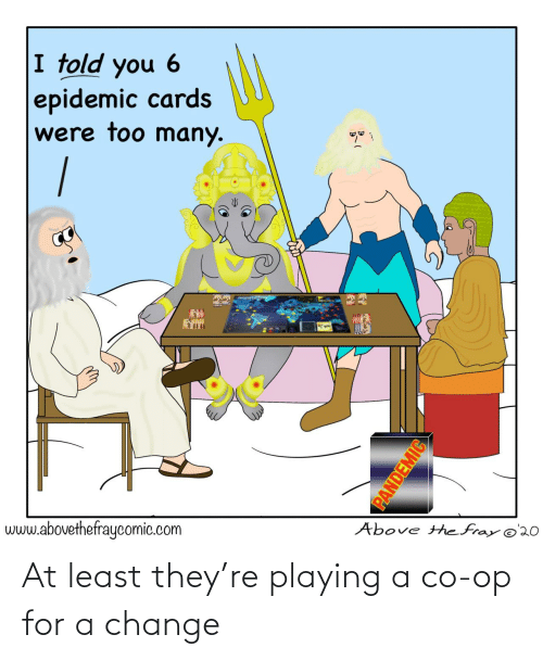 playing: At least they're playing a co-op for a change