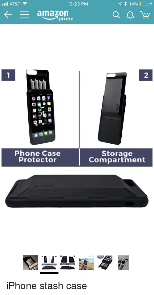 At&T 1223 PM Amazon Lprime 2 Phone Case Protector Storage
