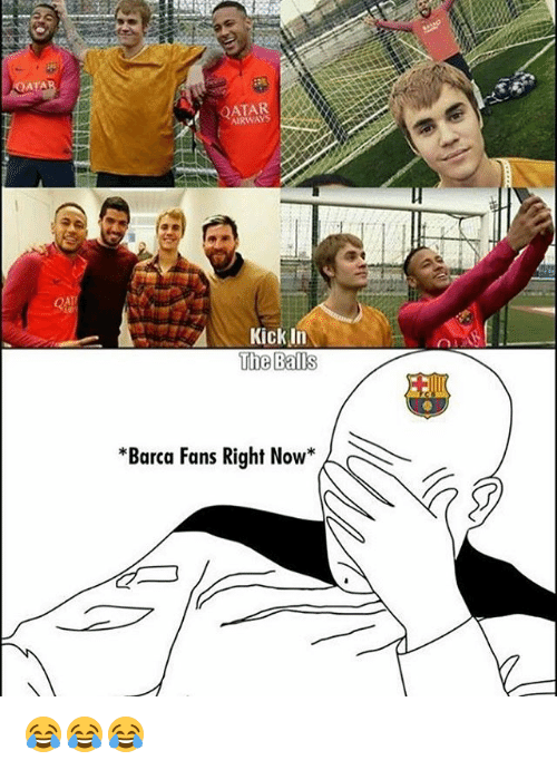 kicked in the balls: ATAR  AIRWAYS  Kick In  The Balls  Barca Fans Right Now 😂😂😂