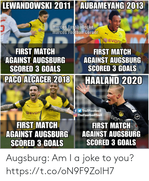 To You: Augsburg: Am I a joke to you? https://t.co/oN9F9ZolH7