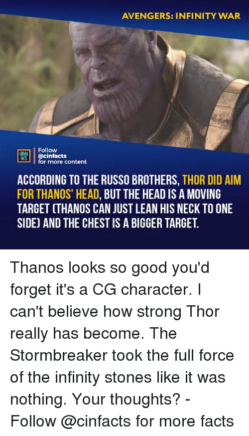 """Russo: AVENGERS: INFINITY WAR  Follow  ONENA  R00İ 