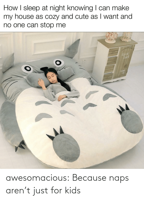 Naps: awesomacious:  Because naps aren't just for kids