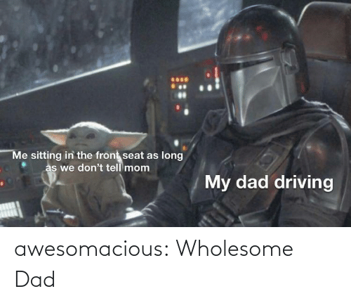 Dad, Tumblr, and Blog: awesomacious:  Wholesome Dad
