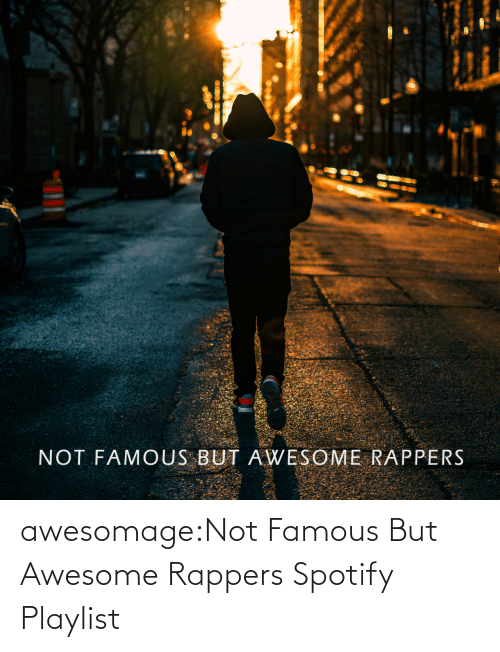 Rappers: awesomage:Not Famous But Awesome Rappers Spotify Playlist