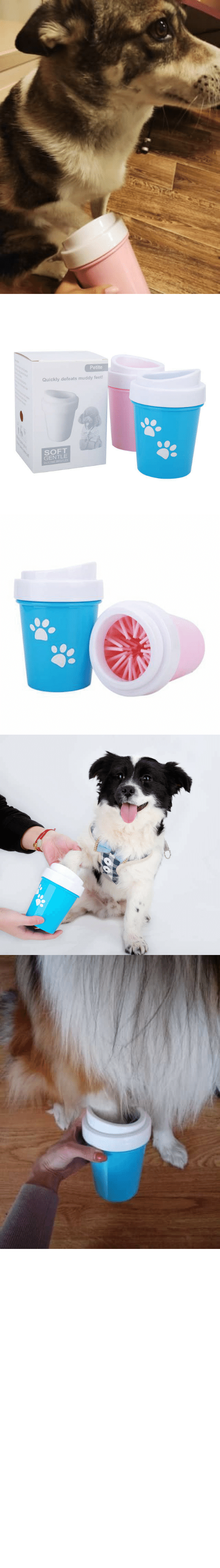 "It All: awesomage:   PAW CLEANER     Now your best friend can have all the muddy dirty fun he wants without bringing it all into your home or vehicle.    30% OFF plus Free Worldwide Shipping with coupon code ""CUDDLING""    All funds gathered will be donated for rescue dog shelters    SUPPORTS US NOW, ORDER AND SHARE OUR CAUSE!https://www.doggiemon.com/products/paw-cleaner"