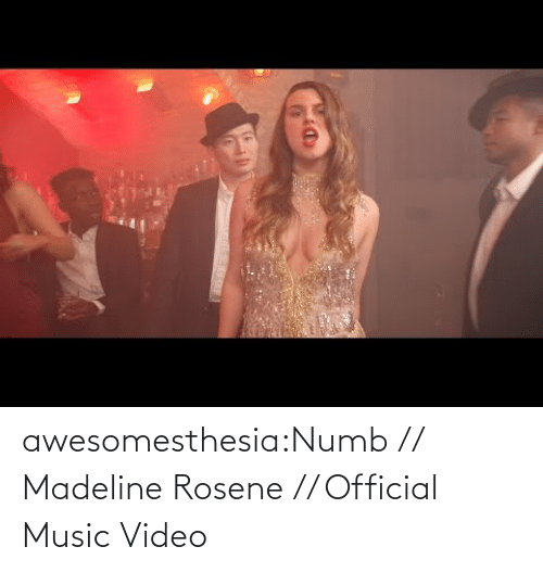 Com Watch: awesomesthesia:Numb // Madeline Rosene // Official Music Video