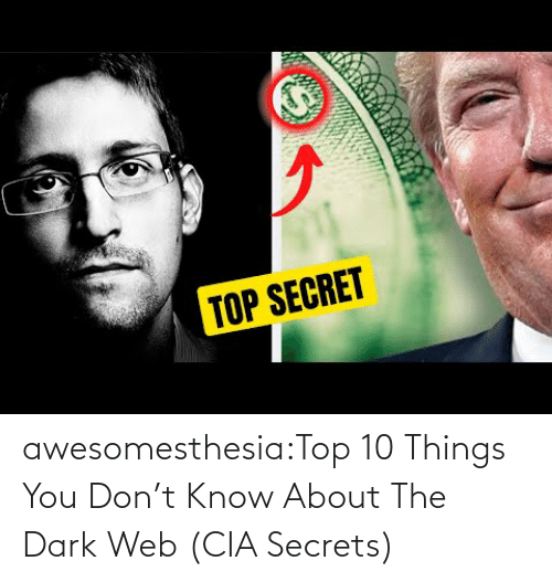 Com Watch: awesomesthesia:Top 10 Things You Don't Know About The Dark Web (CIA Secrets)