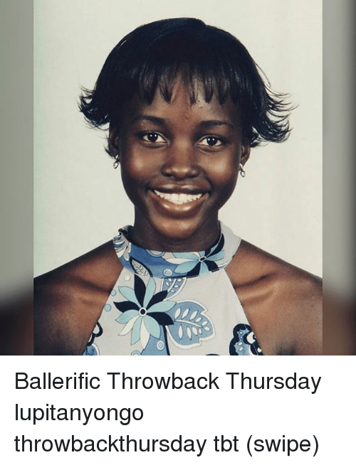 Throwback Thursday: Ballerific Throwback Thursday lupitanyongo throwbackthursday tbt (swipe)