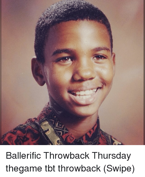 Throwback Thursday: Ballerific Throwback Thursday thegame tbt throwback (Swipe)
