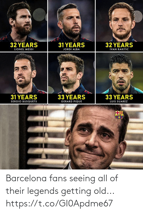Barcelona: Barcelona fans seeing all of their legends getting old... https://t.co/GI0Apdme67