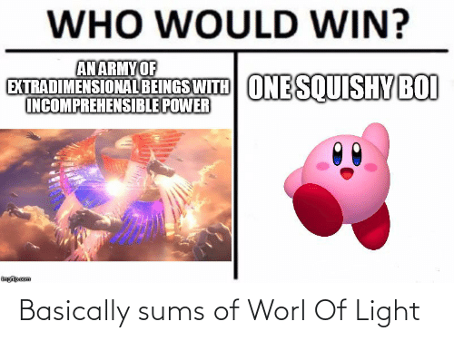 Basically: Basically sums of Worl Of Light