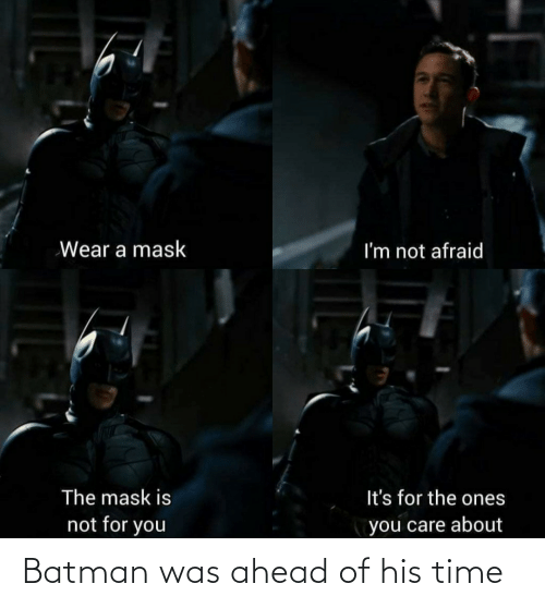 Ahead: Batman was ahead of his time