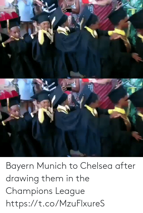 Champions League: Bayern Munich to Chelsea after drawing them in the Champions League   https://t.co/MzuFlxureS