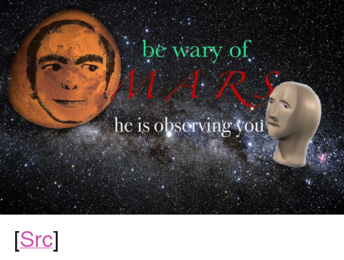 "Reddit, Com, and You: be wary of  he is observing you <p>[<a href=""https://www.reddit.com/r/surrealmemes/comments/80vnpe/warning/"">Src</a>]</p>"