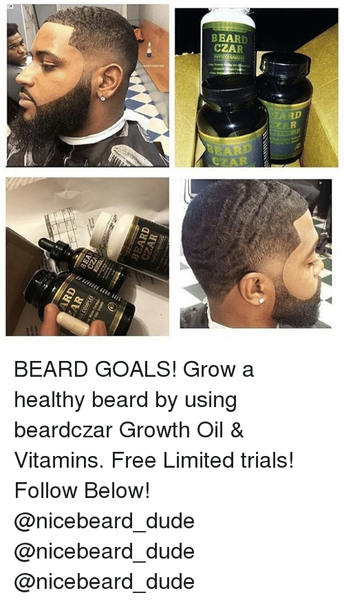 Beard Czar Beard Goals Grow A Healthy Beard By Using Beardczar