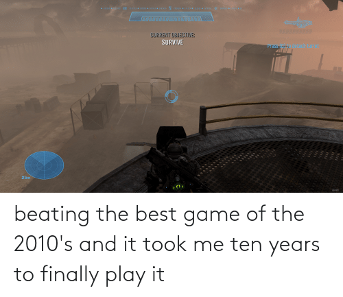 play: beating the best game of the 2010's and it took me ten years to finally play it