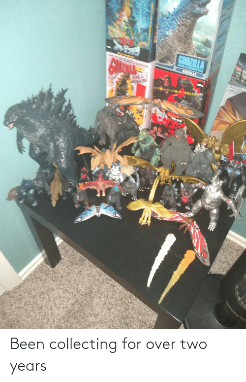 Collecting: Been collecting for over two years