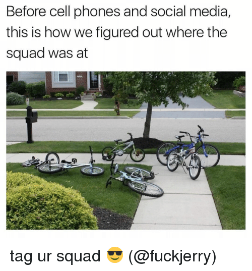 Fuckjerry: Before cell phones and social media,  this is how we figured out where the  squad was at tag ur squad 😎 (@fuckjerry)