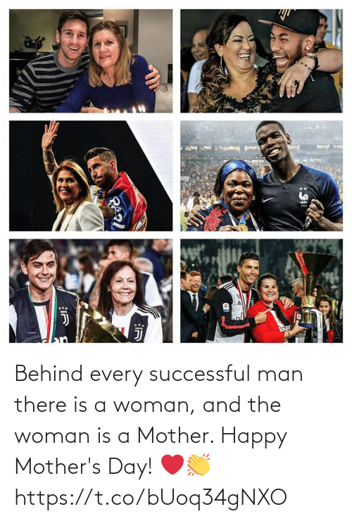 Happy Mothers Day: Behind every successful man there is a woman, and the woman is a Mother. Happy Mother's Day! ❤️👏 https://t.co/bUoq34gNXO
