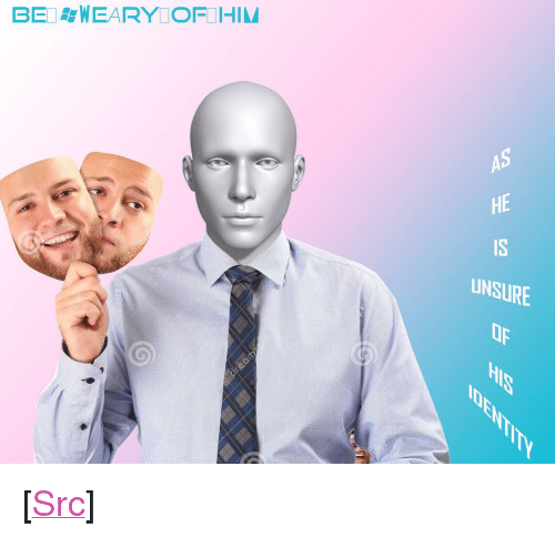 """Bei: BEI WEARY OFIHIM  AS  HE  IS  UNSURE  Op <p>[<a href=""""https://www.reddit.com/r/surrealmemes/comments/89l0zg/be_always_%D9%82%D8%AFafraid_of_this_man_james_bro%D9%82wn_is/"""">Src</a>]</p>"""