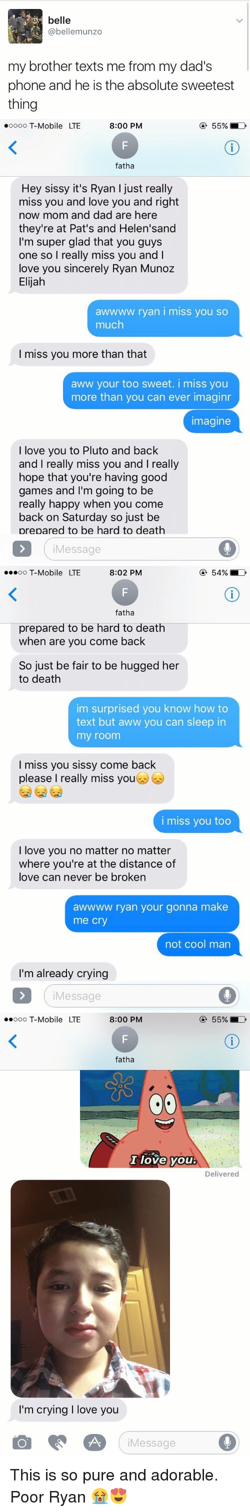 i miss you too