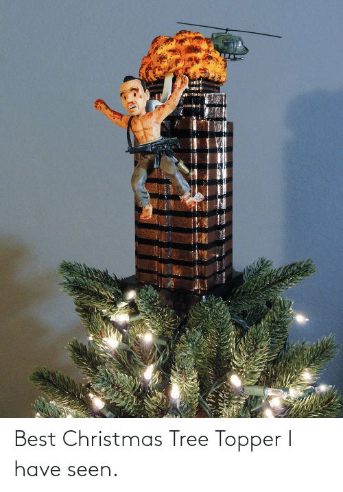 Tree: Best Christmas Tree Topper I have seen.