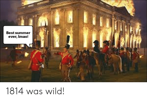 Funny, Lmao, and Summer: Best summer  ever, lmao! 1814 was wild!