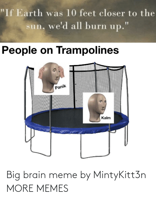 Brain: Big brain meme by MintyKitt3n MORE MEMES