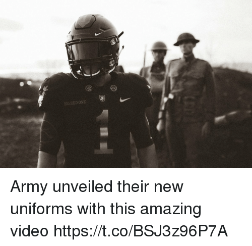 Big Red: BIG RED ONE Army unveiled their new uniforms with this amazing video https://t.co/BSJ3z96P7A