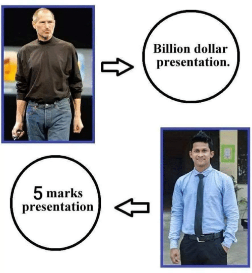 billion: Billion dollar  presentation.  5 marks  presentation  t