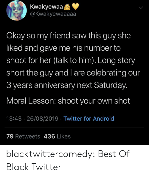 Black Twitter: blacktwittercomedy:  Best Of Black Twitter