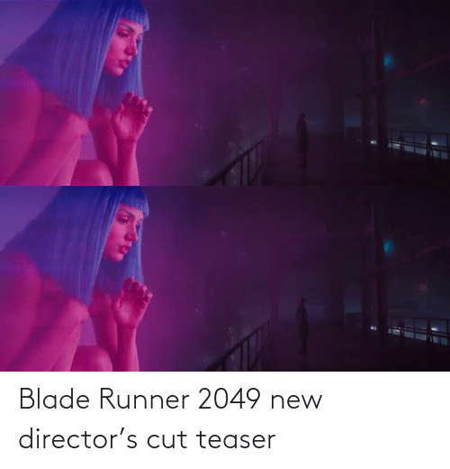 teaser: Blade Runner 2049 new director's cut teaser