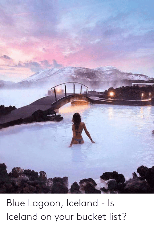 Bucket List, Blue, and Iceland: Blue Lagoon, Iceland - Is Iceland on your bucket list?