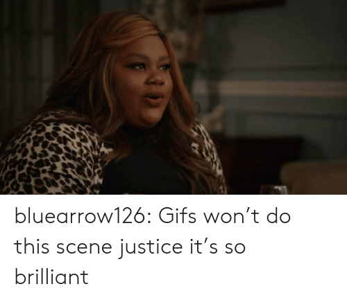 Brilliant: bluearrow126: Gifs won't do this scene justice it's so brilliant