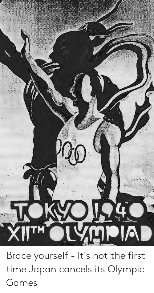 olympic: Brace yourself - It's not the first time Japan cancels its Olympic Games