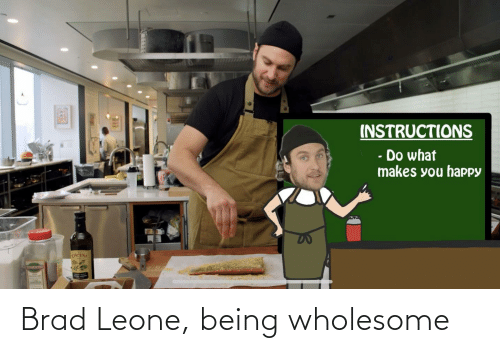 Wholesome: Brad Leone, being wholesome