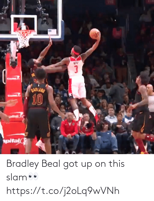 got: Bradley Beal got up on this slam👀 https://t.co/j2oLq9wVNh