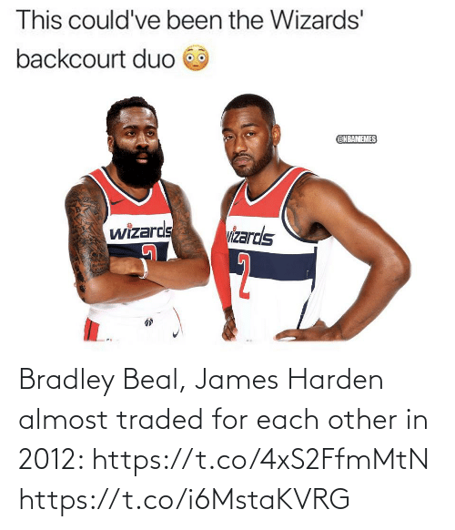 james: Bradley Beal, James Harden almost traded for each other in 2012: https://t.co/4xS2FfmMtN https://t.co/i6MstaKVRG