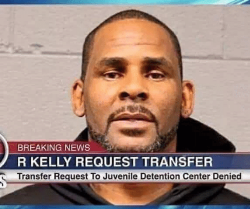 Juvenile, News, and R. Kelly: BREAKING NEWS  R KELLY REQUEST TRANSFER  Transfer Request To Juvenile Detention Center Denied