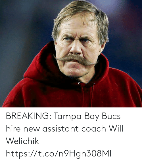 NFL: BREAKING: Tampa Bay Bucs hire new assistant coach Will Welichik https://t.co/n9Hgn308Ml