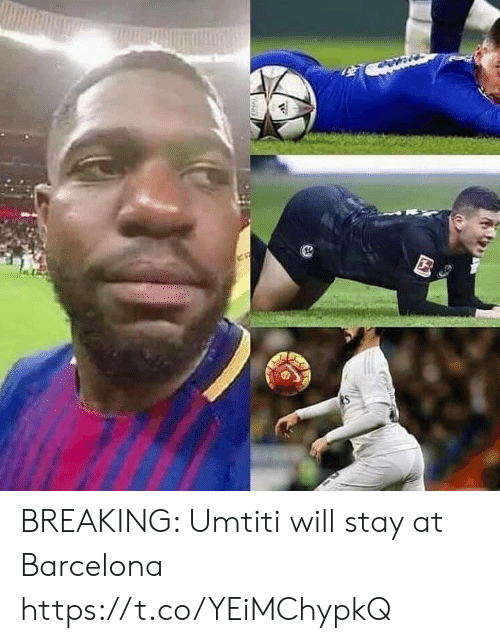 Barcelona: BREAKING: Umtiti will stay at Barcelona https://t.co/YEiMChypkQ